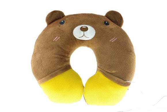 iphone neck pillow cusion stereo music speaker phone