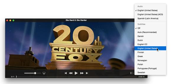 itunes movie subtitles