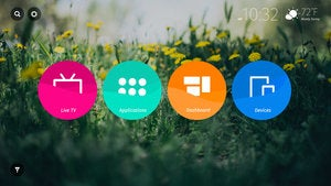 Mozilla Life Screen and Firefox OS home screen