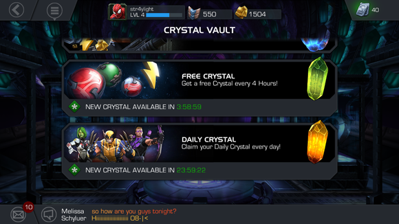 marvel crystals