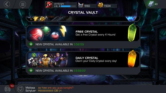 marvel crystals