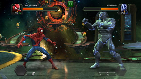 marvel fighting