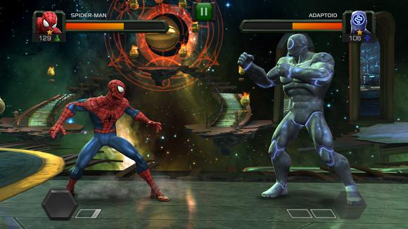 marvel fighting