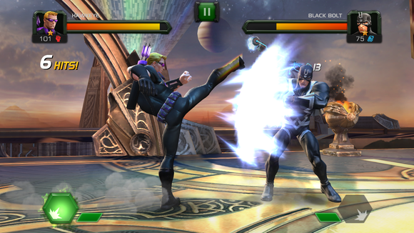 marvel fighting2
