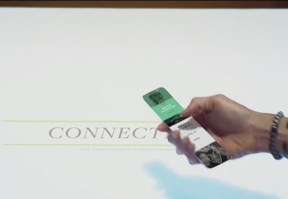 microsoft vision bracelet connecting