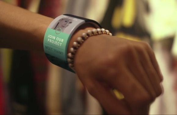 microsoft vision smart bracelet