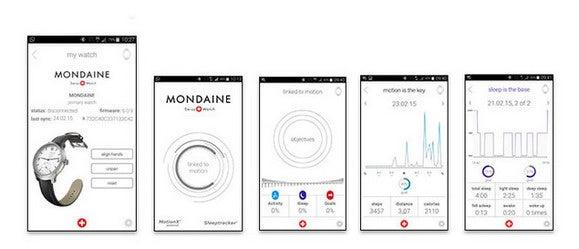 mondaine smartwatch app