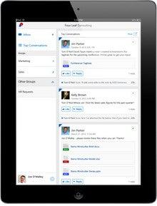Microsoft yammer iPad app