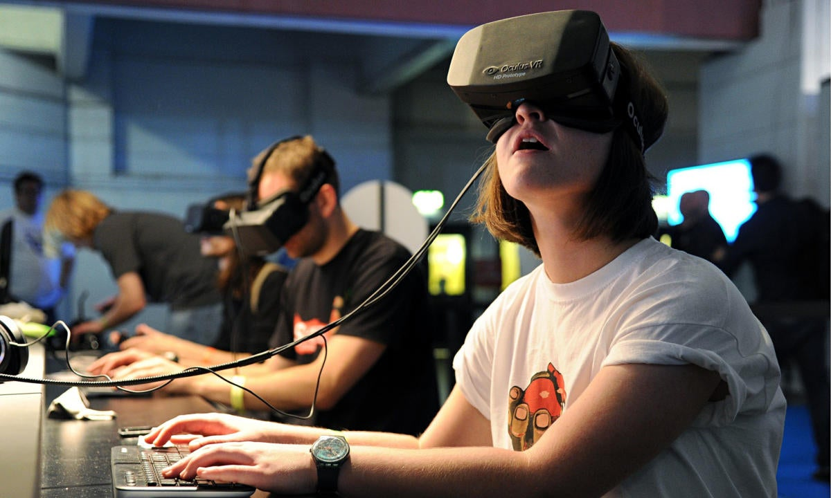 Virtual reality market augmented reality