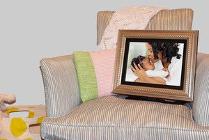 pigeon photo frame