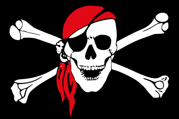 pirate skull crossbones