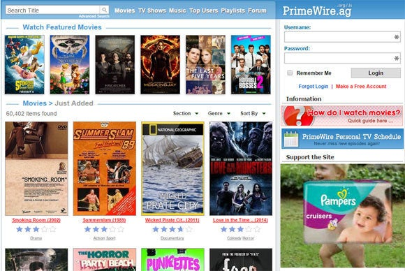 This pirated movie brought to you by Pampers | TechHive