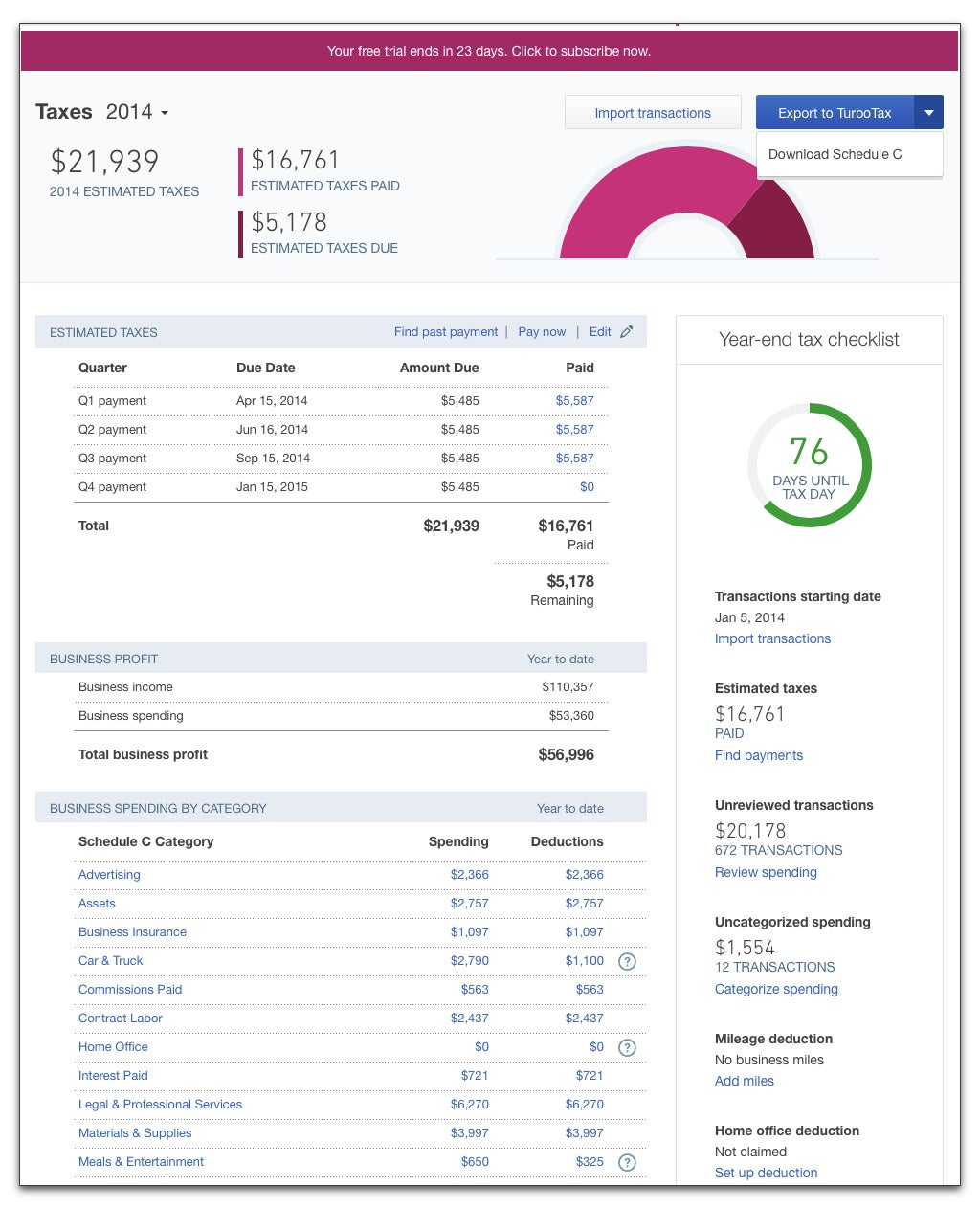 QuickBooks Online Self-Employed Review: Untangle Your