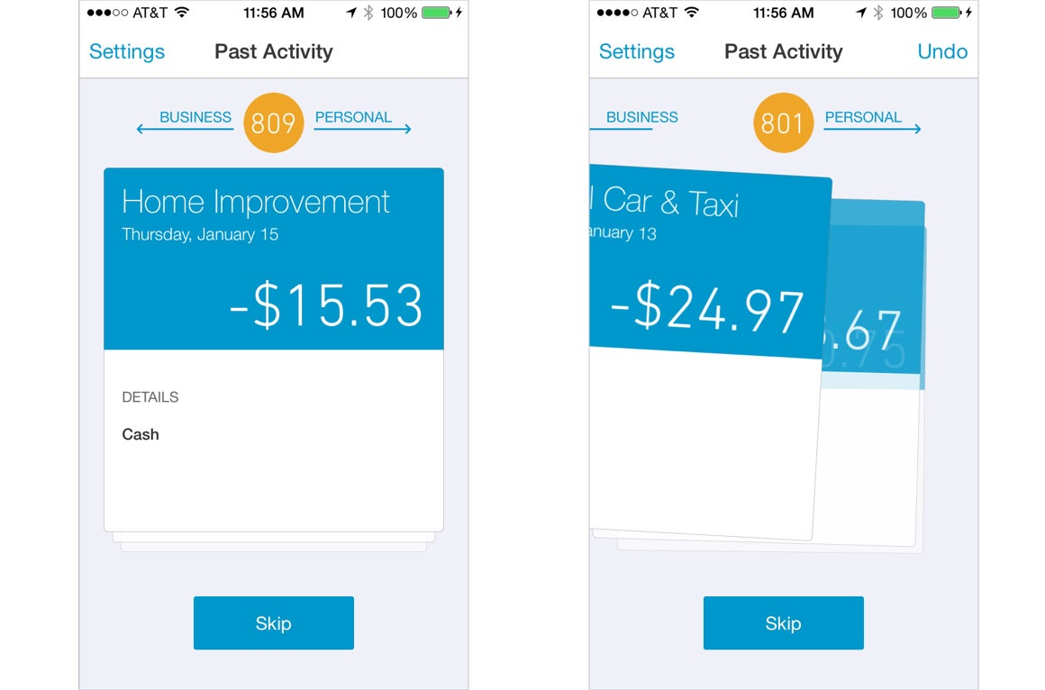 Quickbooks online self employed review untangle your business and the quickbooks self employed ios app makes quick work of separating your personal expenses from your business expenses reheart Choice Image