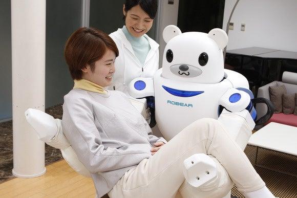 riken teddy bear robot
