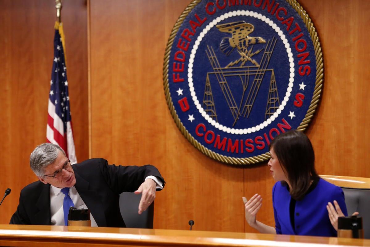 FCC net neutrality discussion