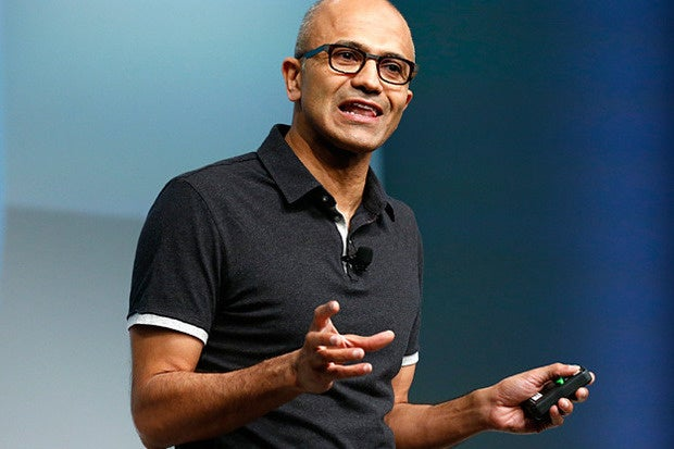Microsoft board shrinks Nadella's 2016 stock award