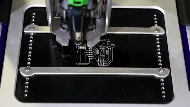 3D circuit printer Voltera