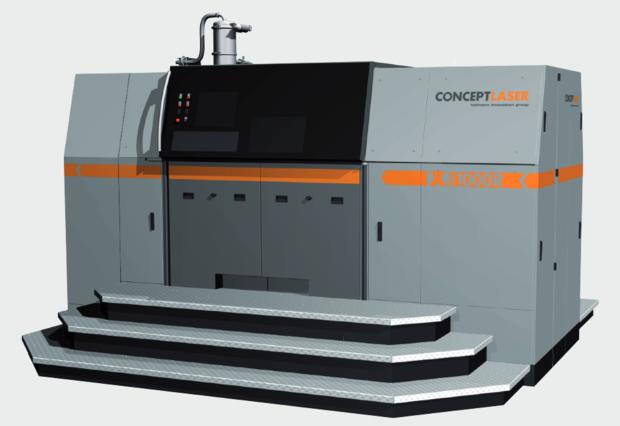 3D selective laser sintering machine Concept Laser