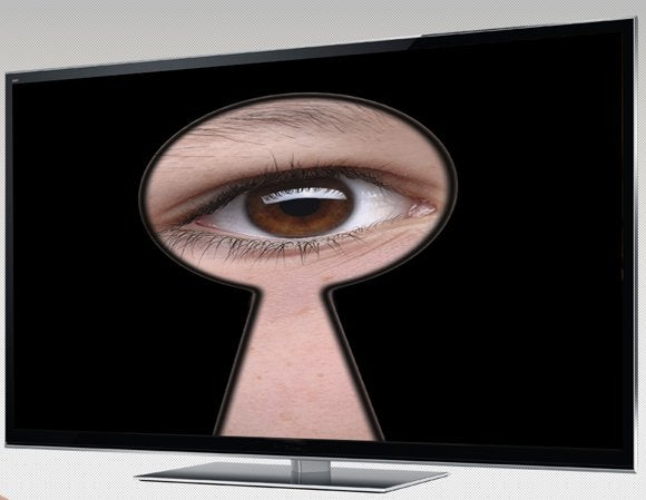 Smart TV spying on you