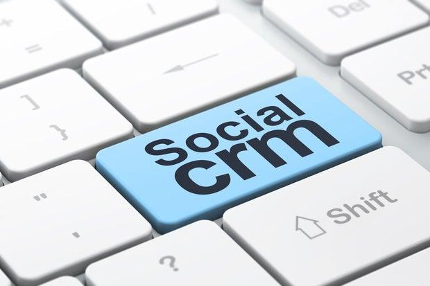 social crm thinkstock