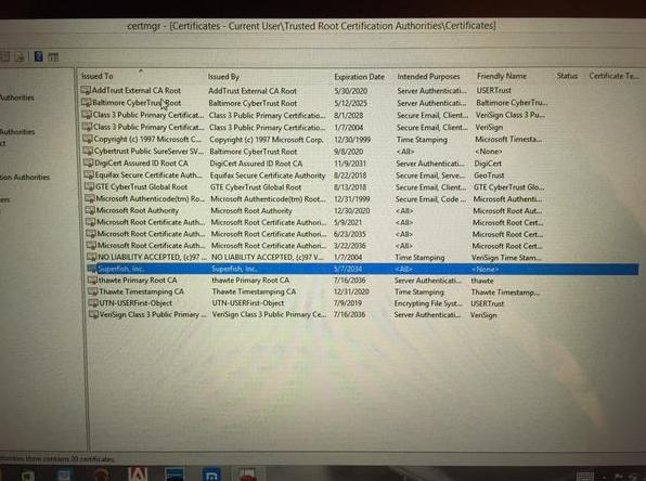 How to remove Superfish malware from Lenovo PCs   PCWorld