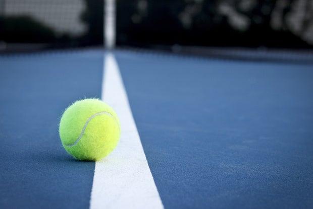 tennis ball court play game
