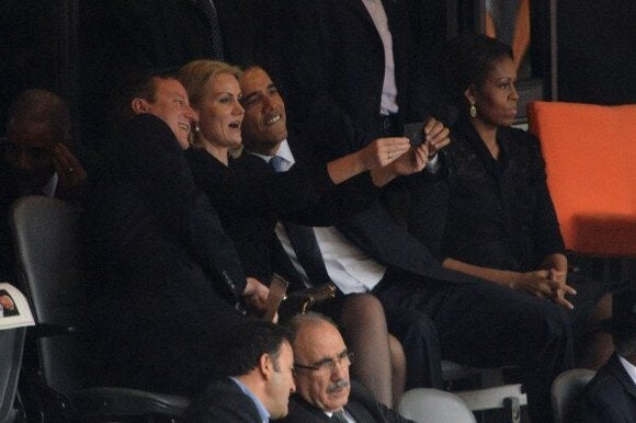 thelist obama funeral selfie
