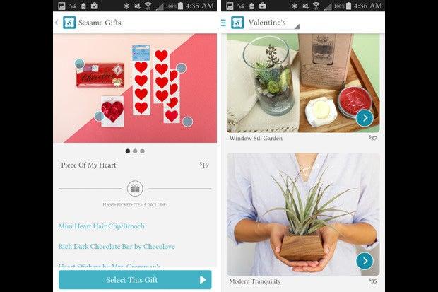 vday apps sesame