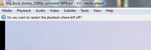 VLC 2.2u0027s   Vlc Resume Playback
