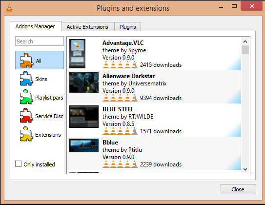vlc update adds in