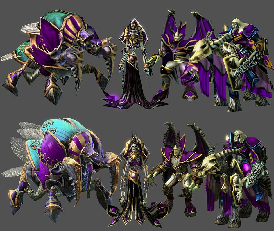 Blizzard adds Warcraft III assets to StarCraft II mod tools (and you