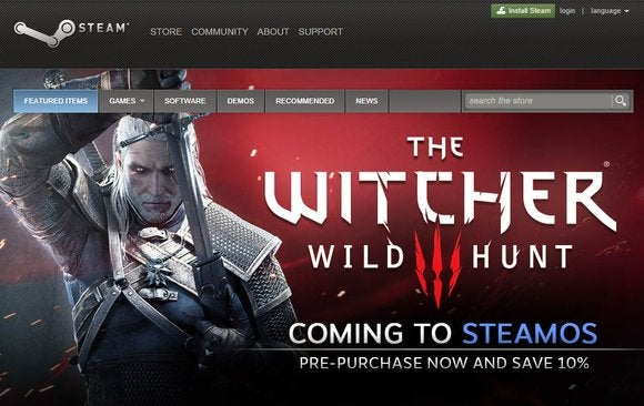 witcher 3 linux