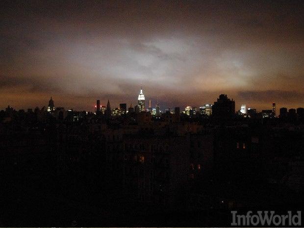 Power grid blackout