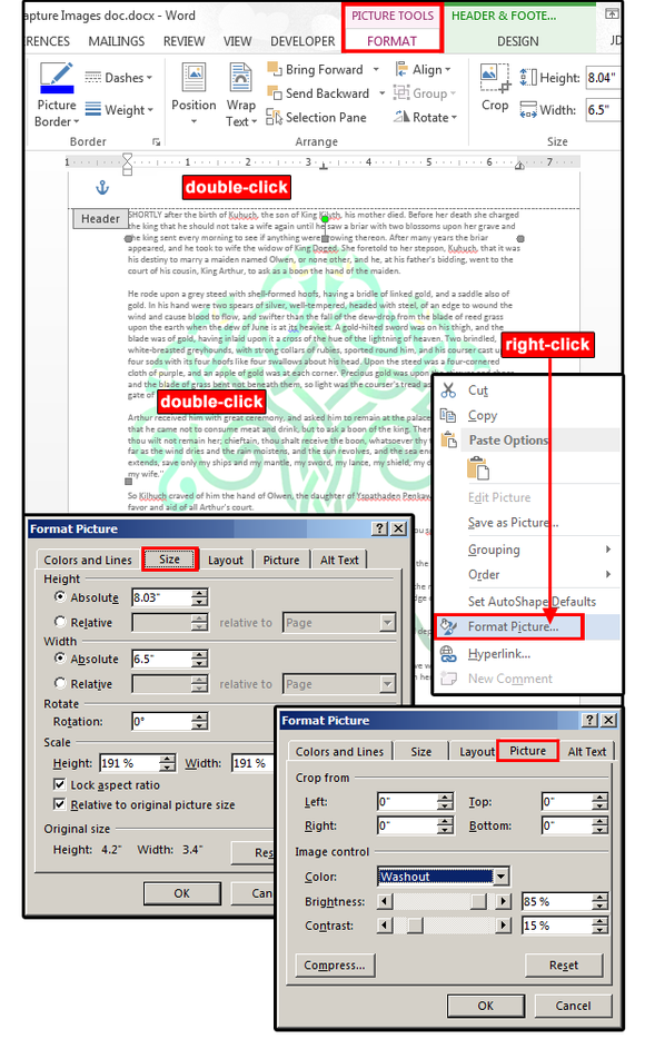 microsoft word watermarks  how to customize them for