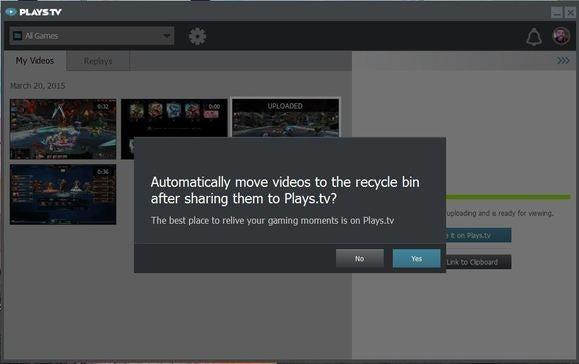 12.uploaded and video auto delete