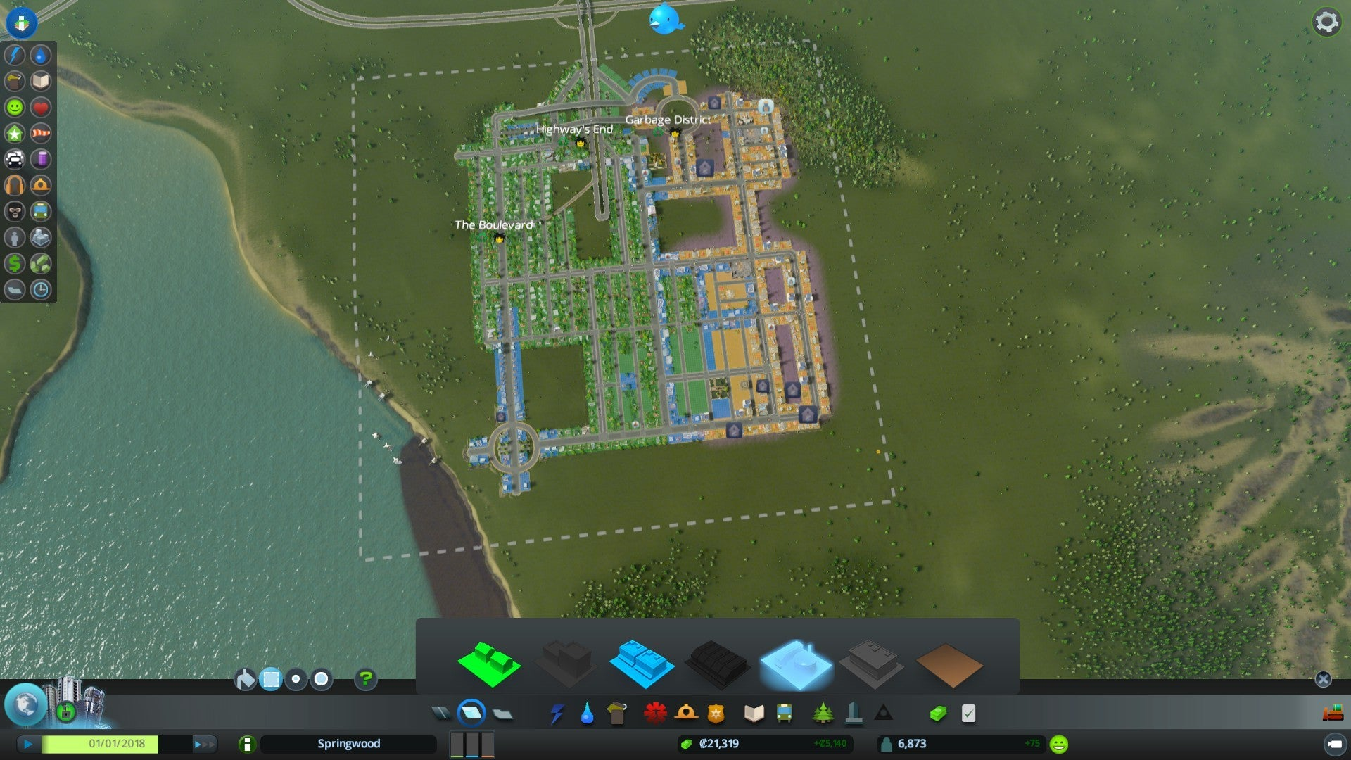 Cities skylines review this is the simcity you were looking for cities skylines im particularly fond of the garbage district which is full of landfills and incinerators so many incinerators gumiabroncs Gallery