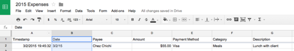 2015 updated expenses