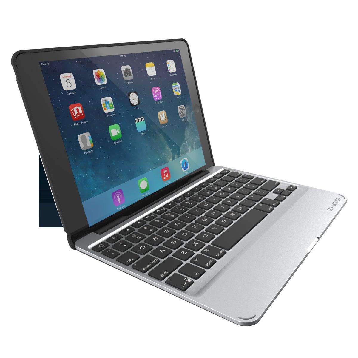 review zagg slim book case and keyboard for ipad air macworld