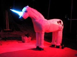 electric neon unicorn