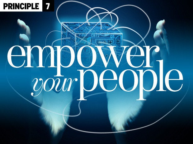 7 empower your people