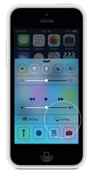 airplay iphone