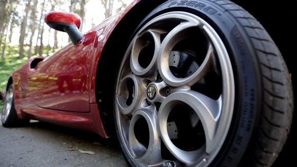 alfa romeo 4c wheel