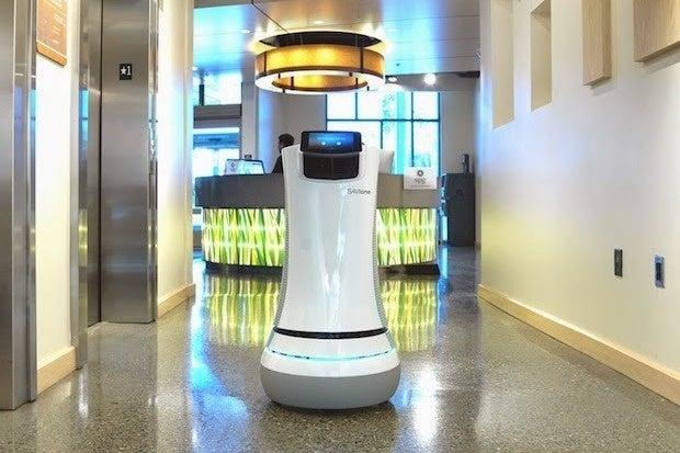 aloft hotel robot