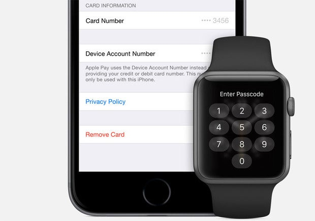 apple watch apple pay security passcode