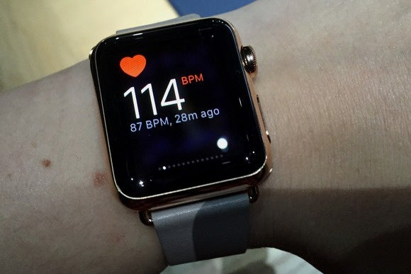 apple watch bpm