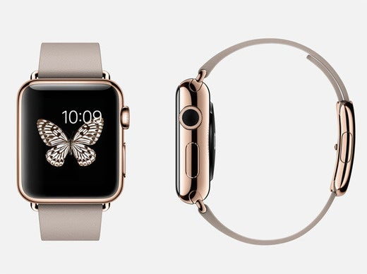Struck gold comparing two apple watch edition try on experiences macworld for Rose gold apple watch