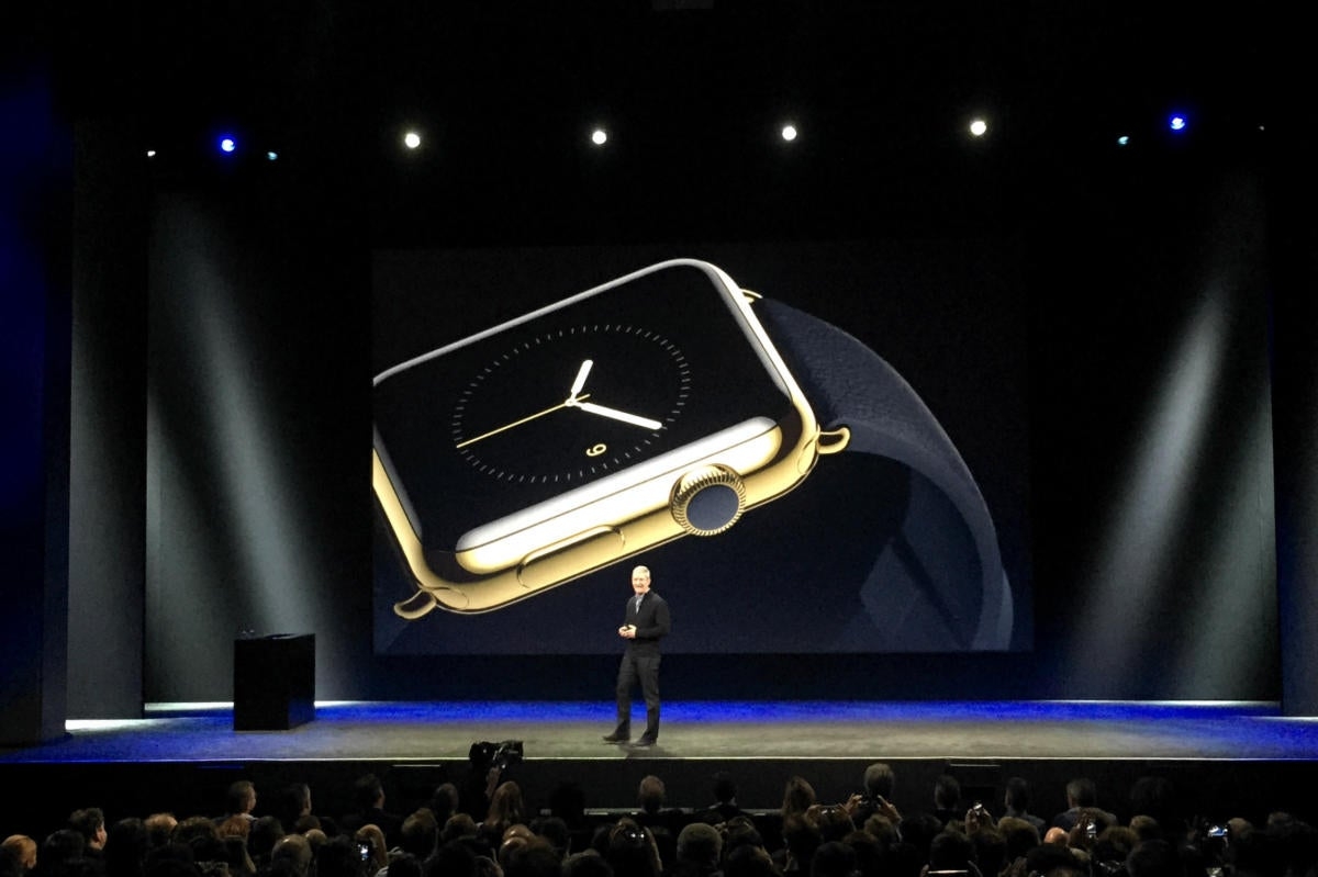 apple watch tim cook