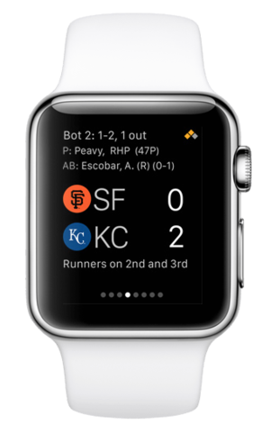 apple watch mlb