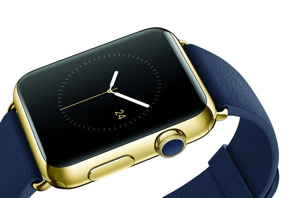 apple watch edition blue leather strap